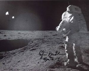 Edgar M on the moon